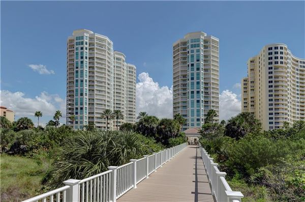 Luxury homes in spacious condo with great views