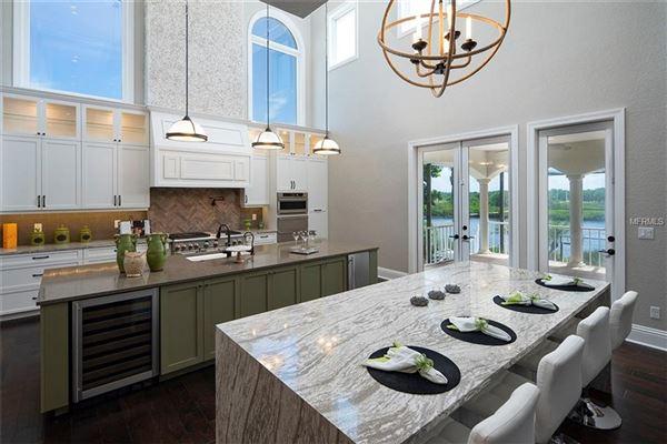 custom designed Anclote Oasis Estate luxury real estate