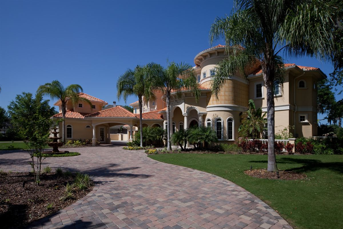 Luxury real estate gated compound of timeless elegance