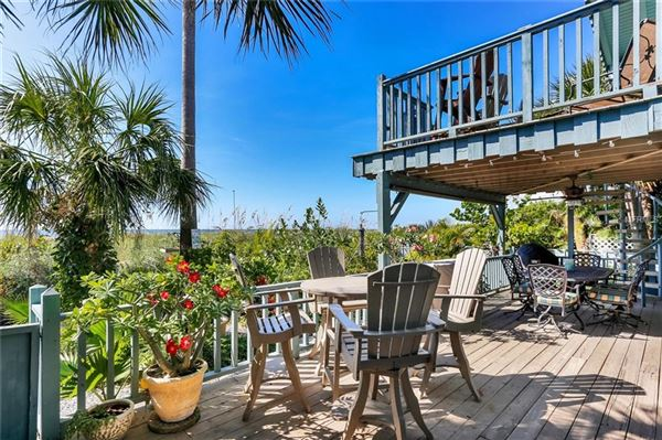 Prime Gulf Front location in st pete beach luxury homes