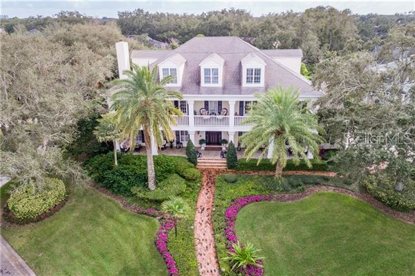 grand estate in Culbreath Isles luxury real estate