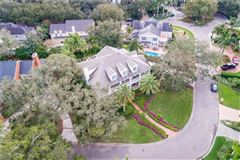 Mansions in grand estate in Culbreath Isles