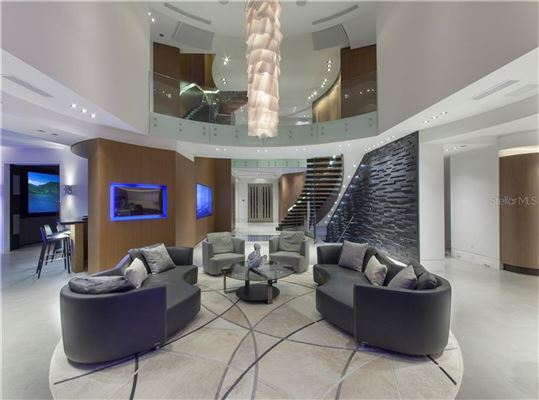 modern work of art on the water luxury real estate
