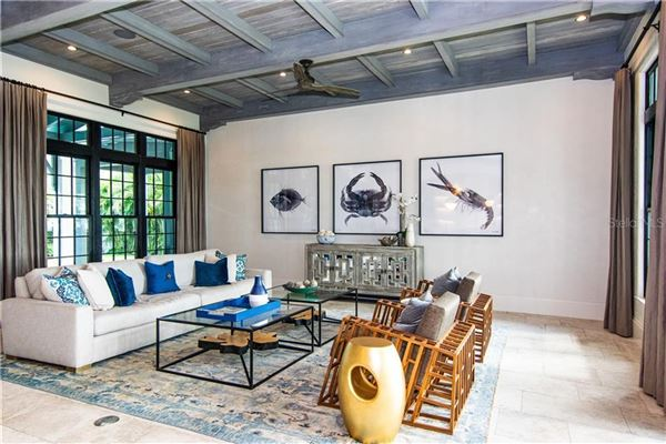 Resort-Like Home in the Heart of South Tampa luxury homes