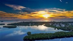 New Construction Waterfront Community luxury homes