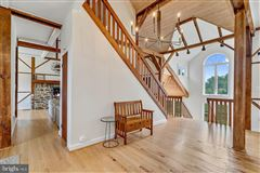 Mansions in stunning post and beam home in private setting