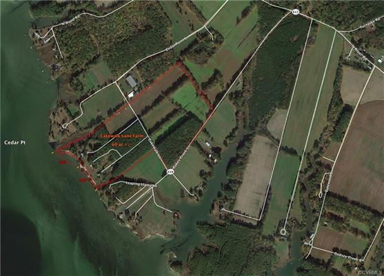 Luxury properties 60 waterfront acres