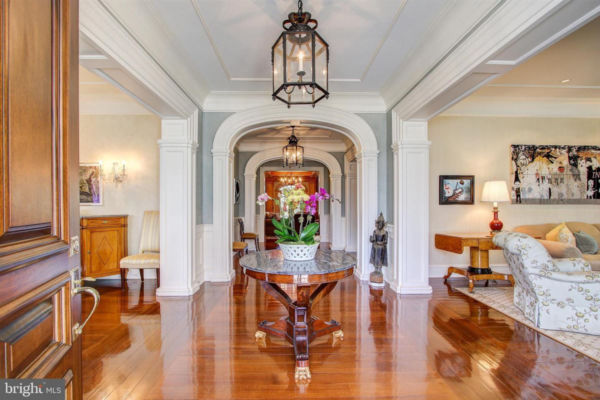 an exquisite home in bethesda luxury real estate