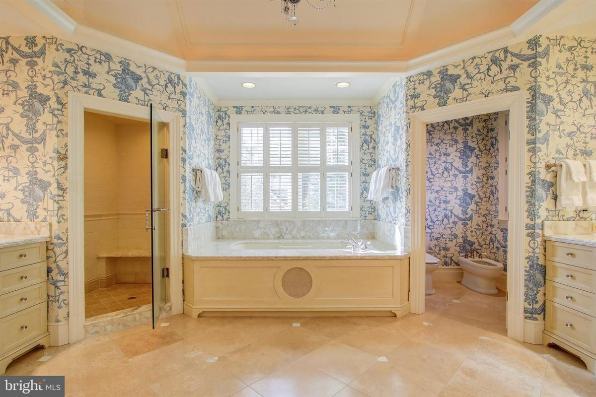 an exquisite home in bethesda mansions
