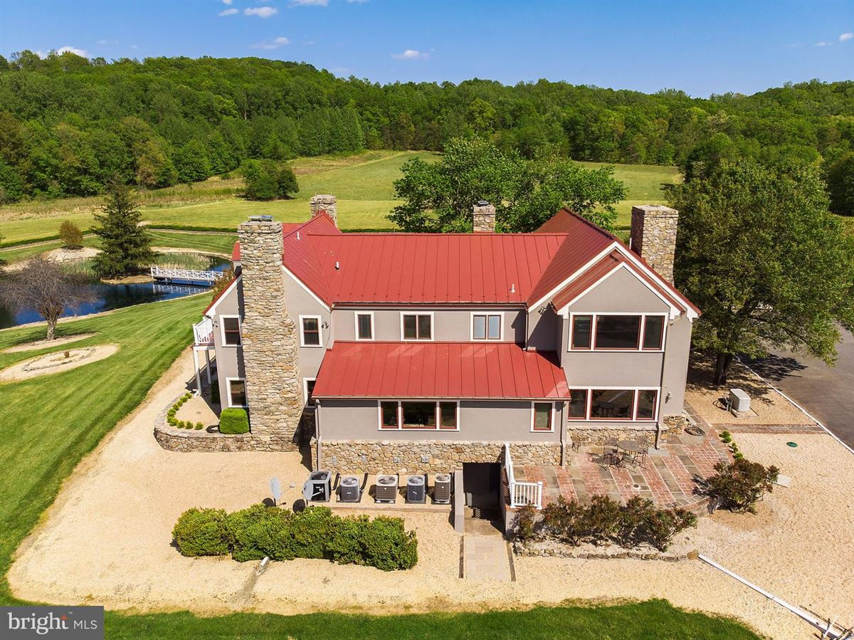 Luxury real estate luxurious estate home on 70 acres