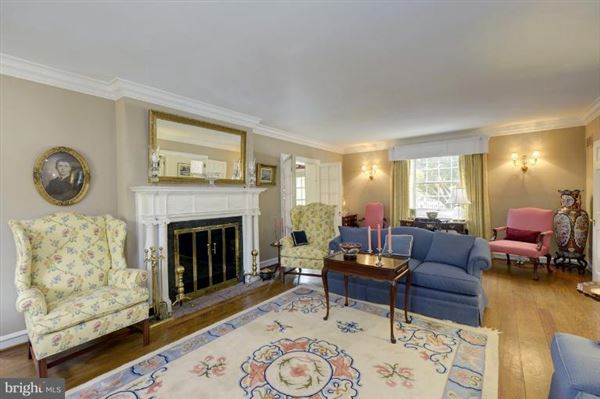 Luxury real estate maintained manor home