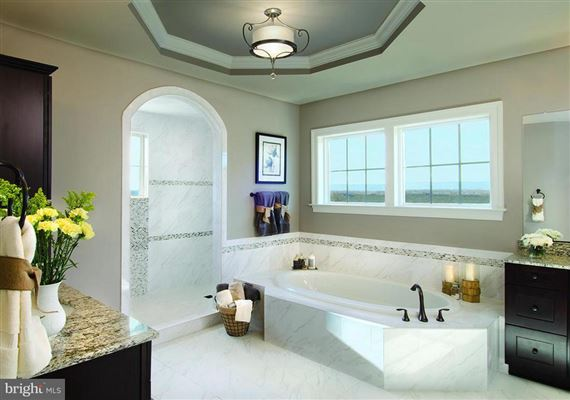 Luxury real estate new luxury home in private enclave