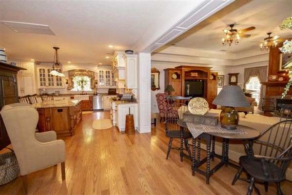 Mansions in Exceptional custom-built brick home on 30 acres