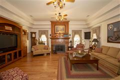 Luxury homes in Exceptional custom-built brick home on 30 acres