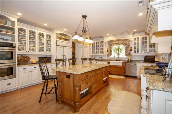 Luxury real estate Exceptional custom-built brick home on 30 acres