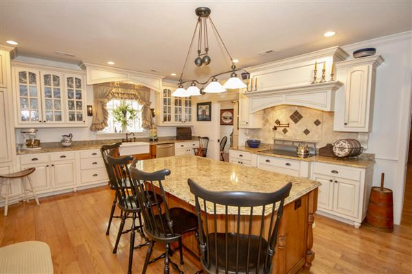 Exceptional custom-built brick home on 30 acres luxury real estate