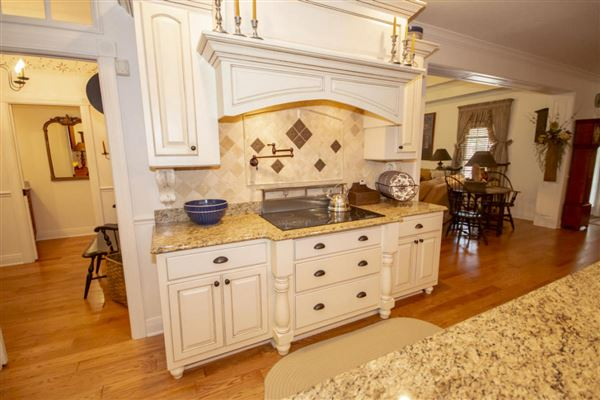 Exceptional custom-built brick home on 30 acres mansions