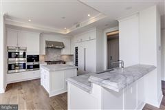 Mansions in immaculate penthouse-level two bedroom in The Lauren