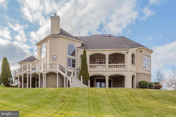 custom home with panoramic golf and lake views mansions