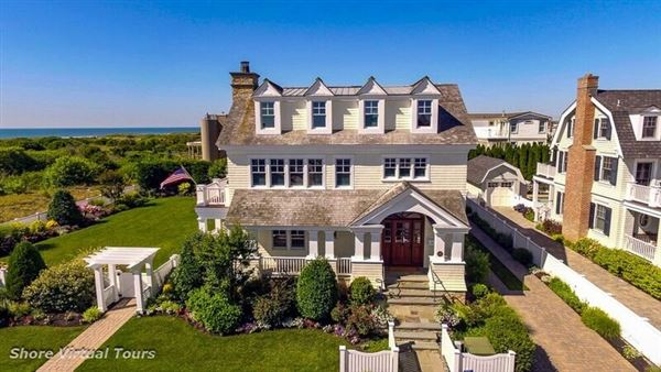 Classic Oceanfront Home Of Rare Quality
