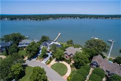 Luxury homes in this grand estate offers expansive broad bay views