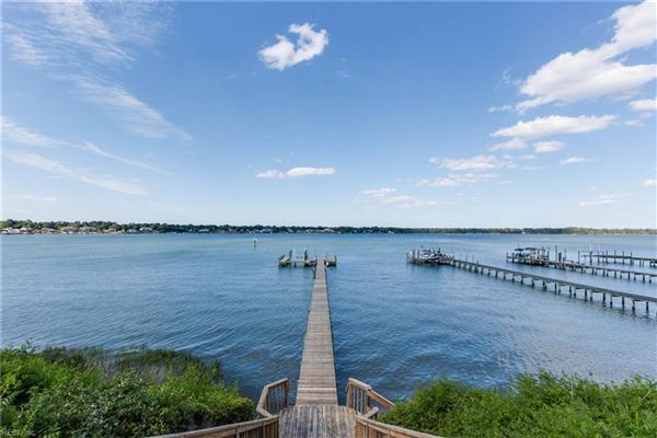 this grand estate offers expansive broad bay views mansions