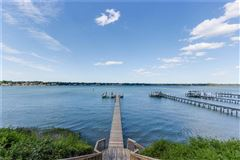 this grand estate offers expansive broad bay views luxury properties