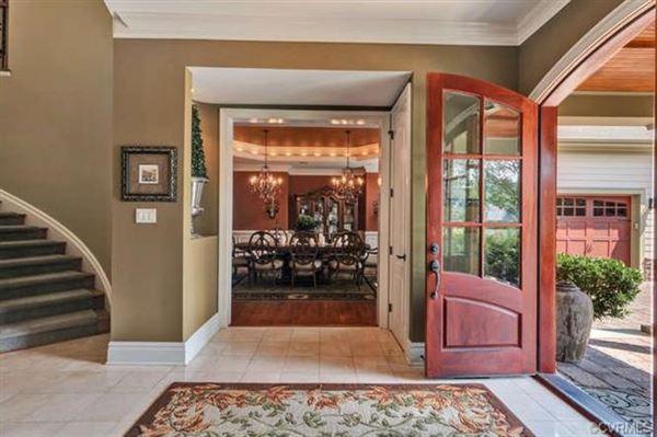 Stunning Custom Home on the 13th Fairway in Founders Bridge luxury homes