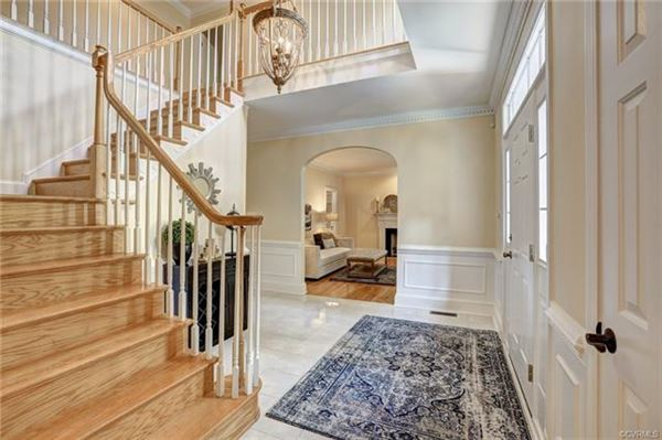 Luxury homes gorgeous brick home in Rivergate