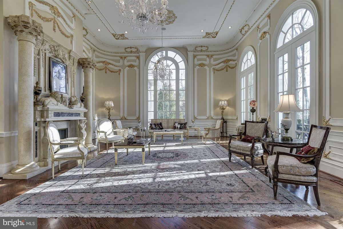 Luxury properties timeless Chateau style masterpiece