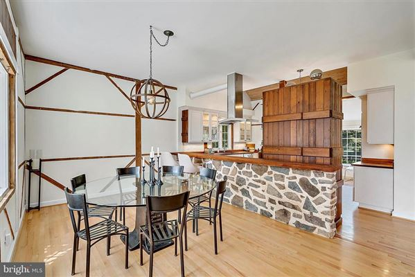 stunning post and beam home in private setting  luxury real estate