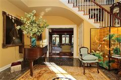 Exquisite brick estate with guest cottage luxury real estate
