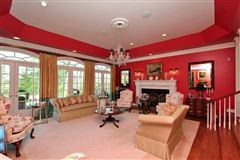 Luxury homes in Exquisite brick estate with guest cottage