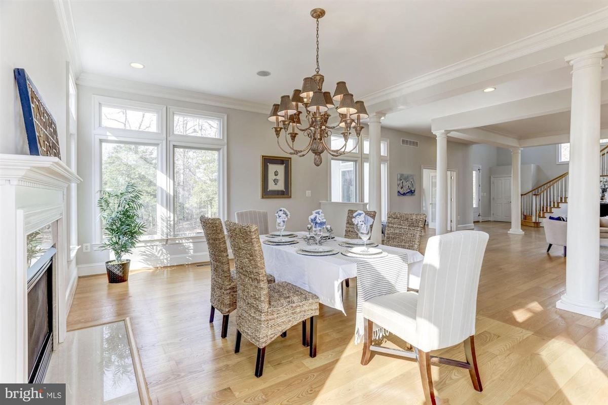 Luxury real estate this exceptional home boasts private access to Beards Creek