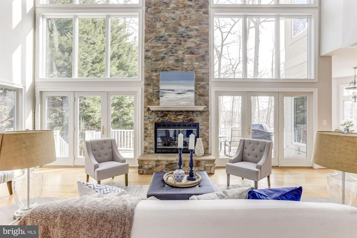 Luxury homes this exceptional home boasts private access to Beards Creek