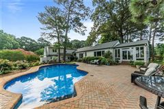 A 1.5-acre private peninsula  luxury properties