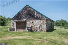 Luxury homes 92 acre farm with 1776 historic stone home