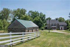 Luxury properties 92 acre farm with 1776 historic stone home