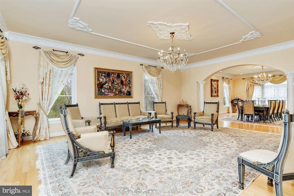 Luxury properties Mediterranean-styled estate home in Columbia