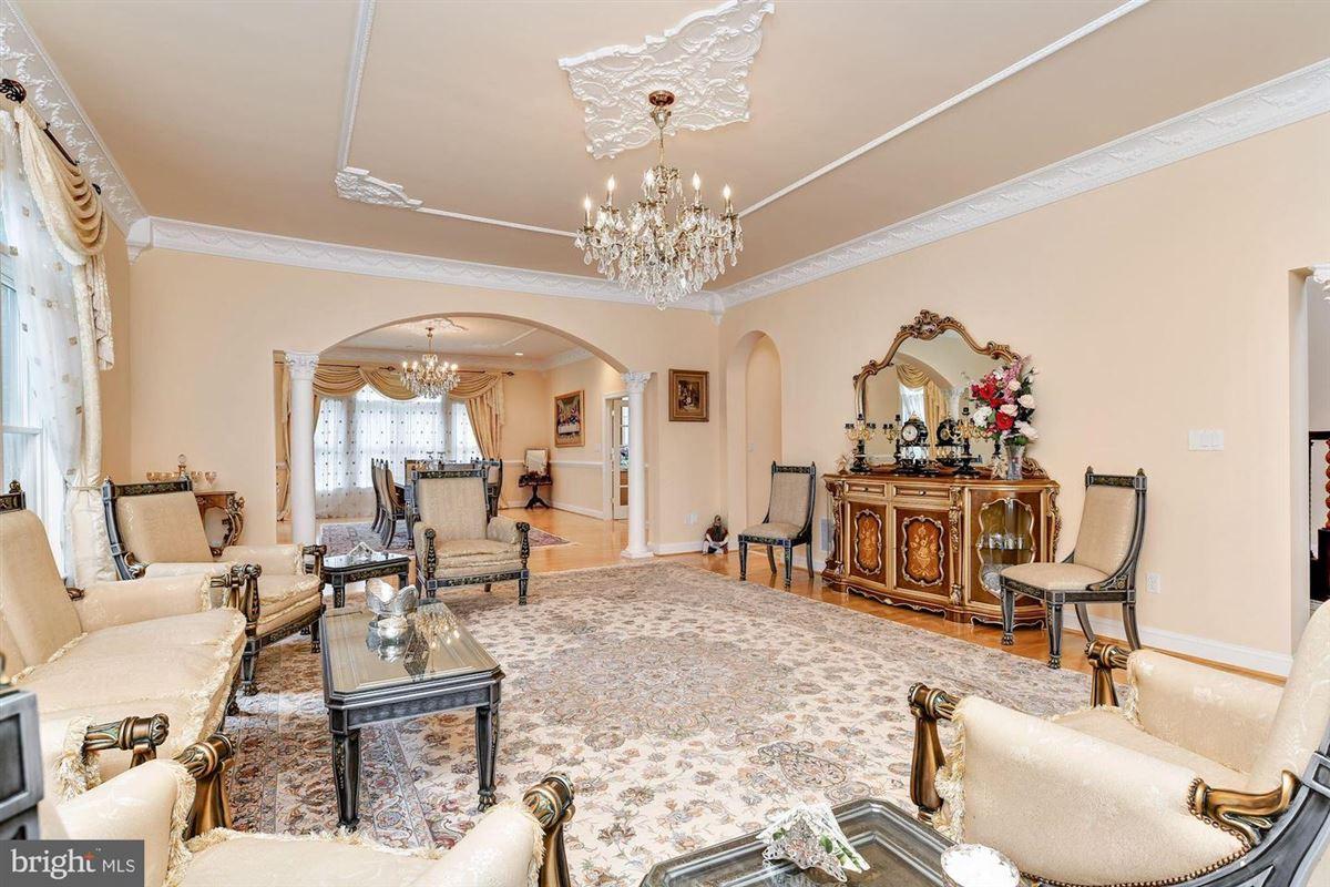 Mediterranean-styled estate home in Columbia luxury properties