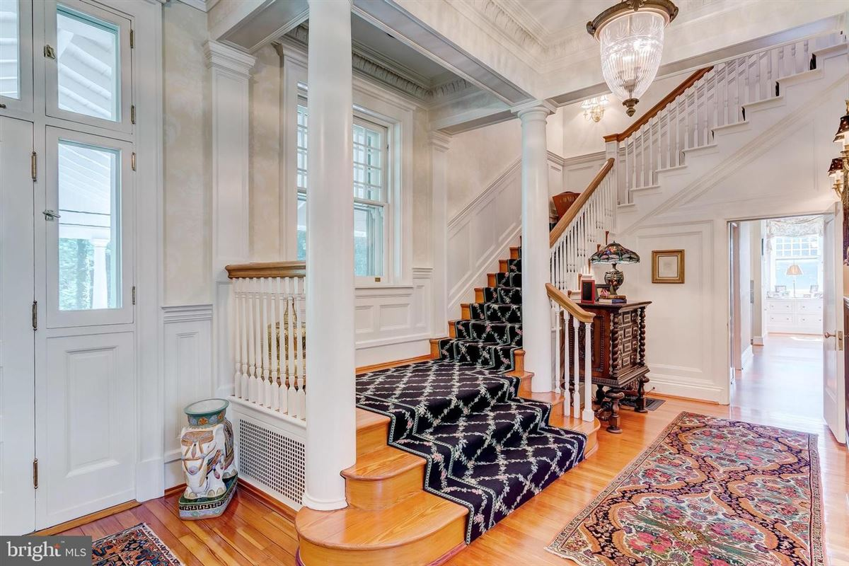 Luxury homes renovated grand 1880 estate home