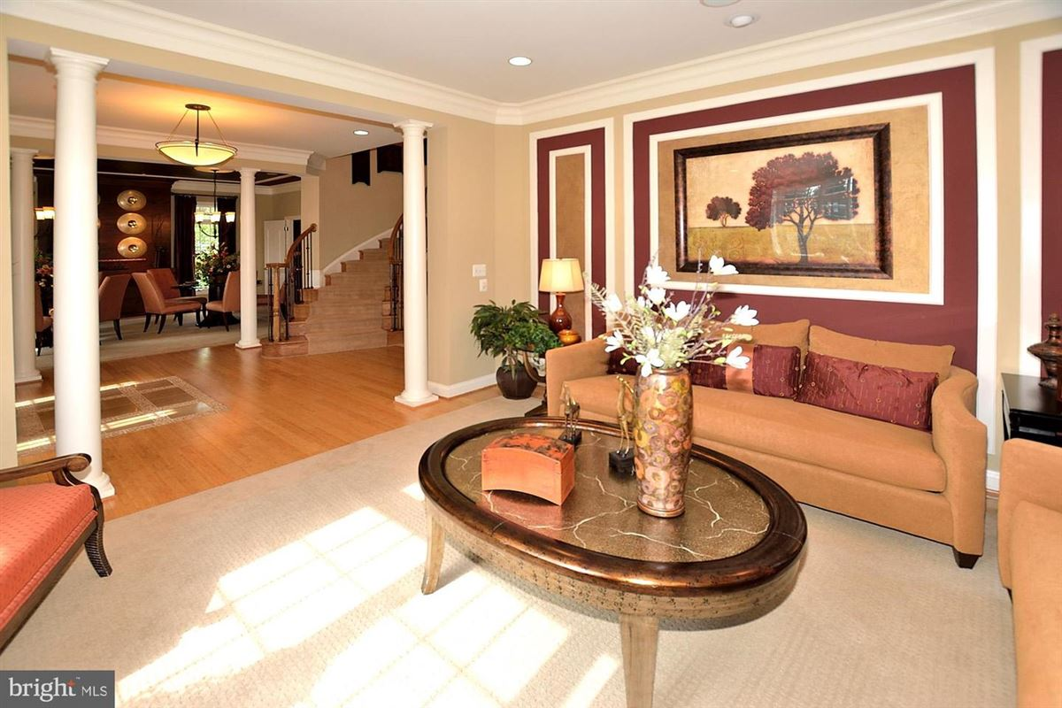 Luxury homes former model with eye-catching details throughout