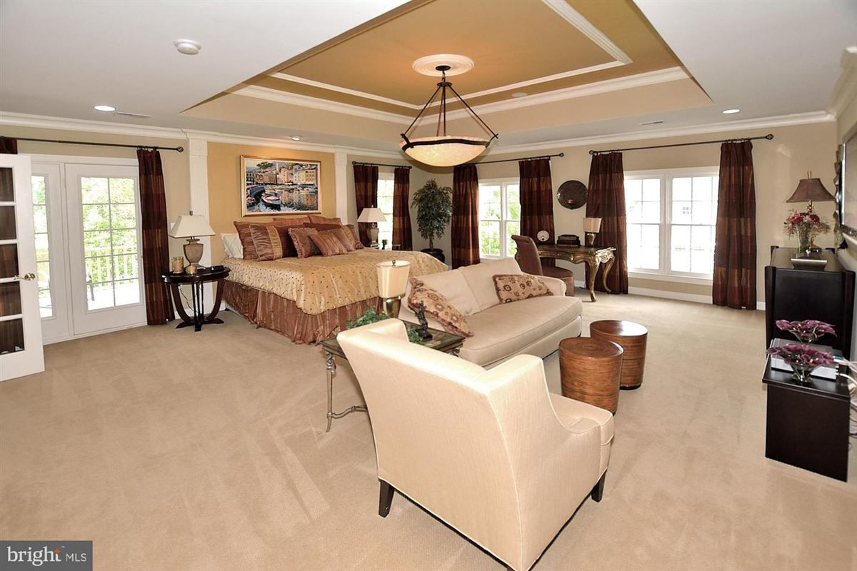former model with eye-catching details throughout mansions