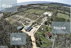 Amazing opportunity to own 63 plus acres on the Breton Bay Peninsula  luxury real estate