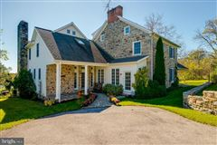 Luxury homes restored and renovated historic stone home