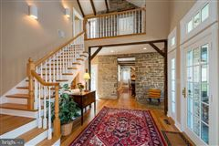 restored and renovated historic stone home mansions