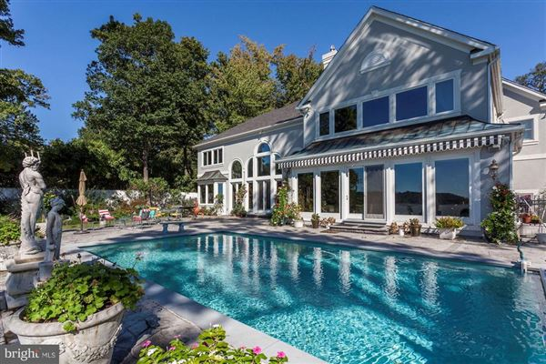 Luxury homes in Luxury waterfront estate offers privacy and views