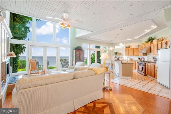 Chesapeake Bay waterfront home in Shady Side luxury real estate
