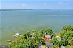 Chesapeake Bay waterfront home in Shady Side luxury properties