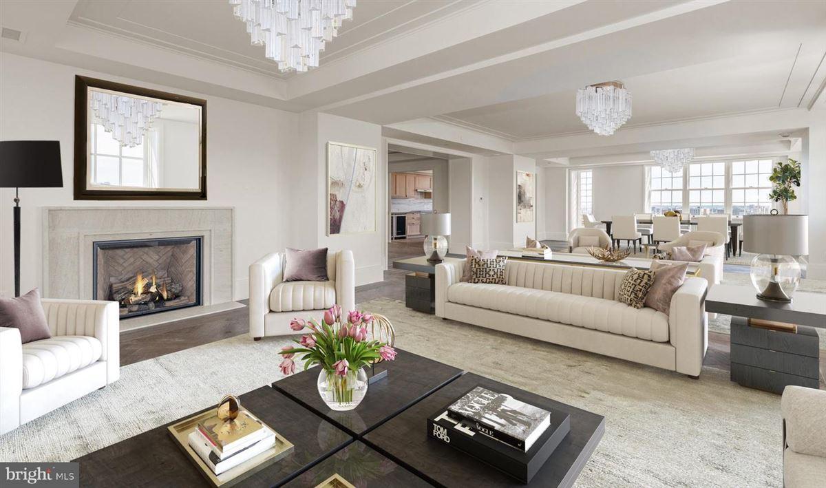 penthouse three in Wardman Tower. luxury real estate